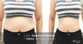 Nuevos hábitos te pueden ayudar a mantener tu figura después de una liposucción