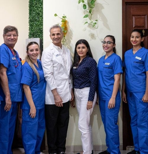 Happy and compassionate team highly trained to treat neurological diseases at the Holistic Bio Spa