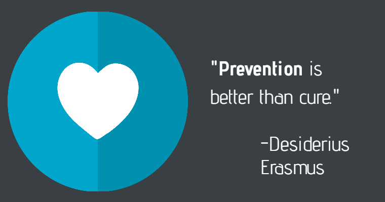 "Quote by Desiderius Erasmus: ""Prevention is better than cure."""
