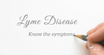 Learn the symptoms for Lyme disease and fight it successfully!