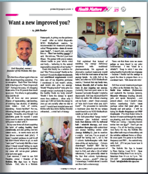 Alternative Medicine in Puerto Vallarta - PVMIRROR Article