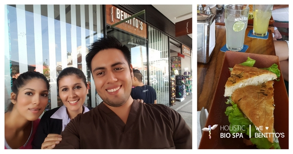 HOLISTIC BIO SPA VISITING BENITTO'S PANINOTECA BAR