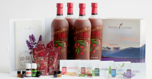 Kit Premium Ningxia Red Young Living with stress away and orange essential oils