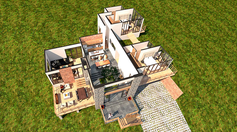 Talpa de Allende Real Estate Model at Holistic Residential Development
