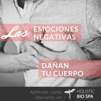Las emociones negativas causan enfermedades